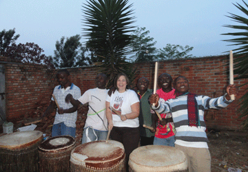 WorldLegacy Graduate Stands for Rwandan Children